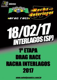 Drag Race / Racha Interlagos 2017 - 1ª Etapa
