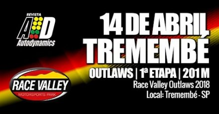 Race Valley Outlaws 2018 - 1ª Etapa - Reinauguração da Pista